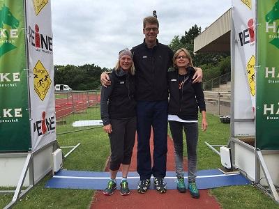 Jenny, Jens und Sabine in Peine